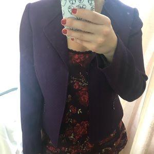 NWOT Tahari Royal Purple Blazer